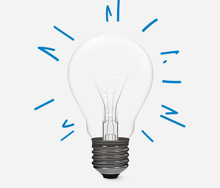 Lightbulb Withillustration 2